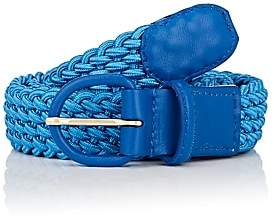 Andre x Beltology Women's Woven Elastic Belt-Blue