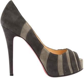 Christian Louboutin Lady Peep heels