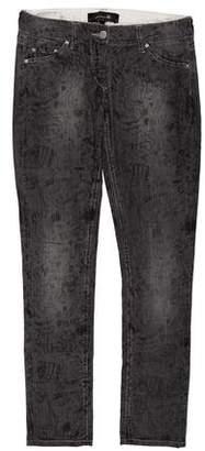 Isabel Marant Low-Rise Straight-Leg Pants