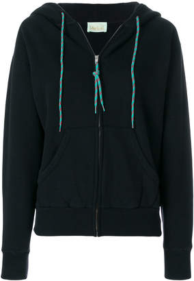 Aries zip hooded sweatshirt
