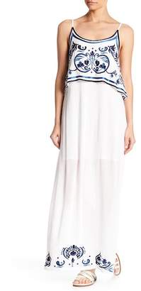 Raga Mediterranean Embroidered Maxi Dress