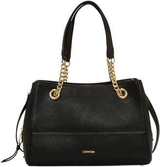 Calvin Klein Marie Chain Tote Bag