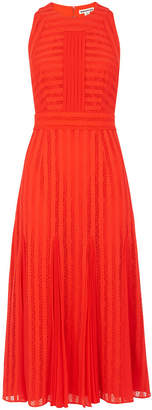 Whistles Nora Lace Pleat Mix Dress