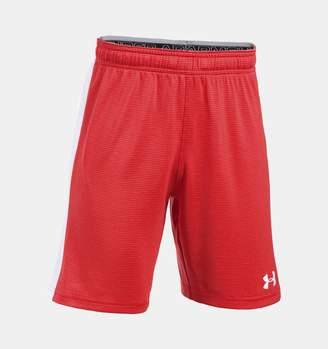 Under Armour Boys' UA Threadborne Match Shorts