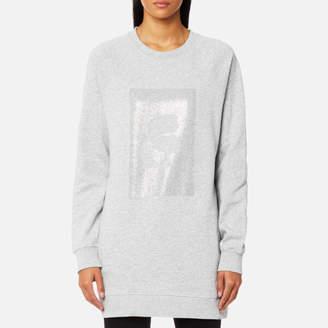 Karl Lagerfeld Women's Rhinestones Sweatshirt