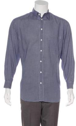 Giorgio Armani Printed Dress Shirt