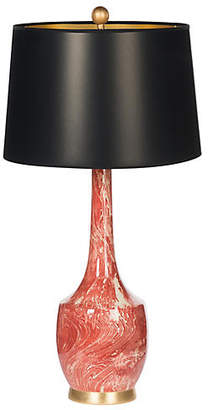 One Kings Lane Bradburn Home For Harlow Couture Table Lamp - Red Marble