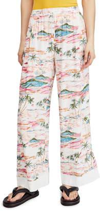 Free People Blue Lagoon Pants