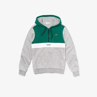 Lacoste Men's SPORT Hooded Fleece Sweatshirt