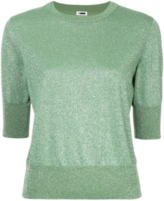 H Beauty&Youth three-quarter sleeves knitted blouse