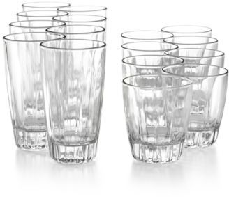 The Cellar Glassware, Georgia 16-Piece Set