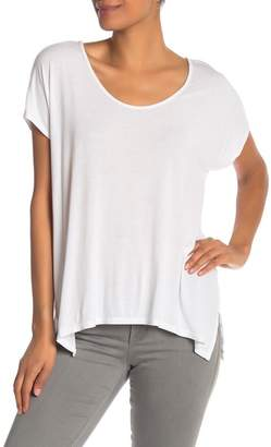 Michael Stars Scoop Neck Strappy Back Tee