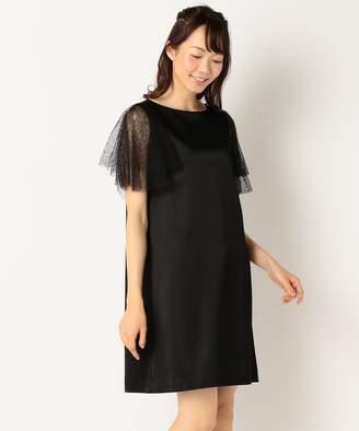Kumikyoku (組曲) - 組曲 【結婚式やパーティに】サテンコンビチュールレース ドレス(C)FDB
