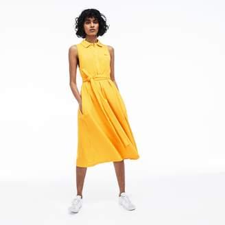 Lacoste Women's Soft Petit Pique Polo Dress