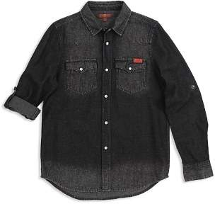 7 For All Mankind Boys' Western Denim Shirt - Little Kid