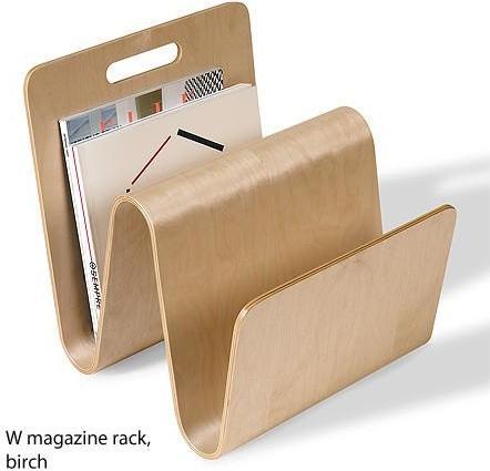 Offi - 'w' magazine racks by eric pfeiffer for offi
