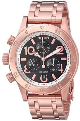 Nixon Women's '38-20 Chrono' Quartz Stainless Steel Watch