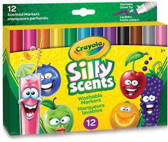 Crayola 12-Piece Silly Scents Wedge Tip Markers