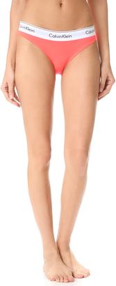 Calvin Klein Underwear Modern Cotton Bikini Briefs $20 thestylecure.com