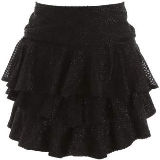 Wandering WANDERING Lurex Mini Skirt
