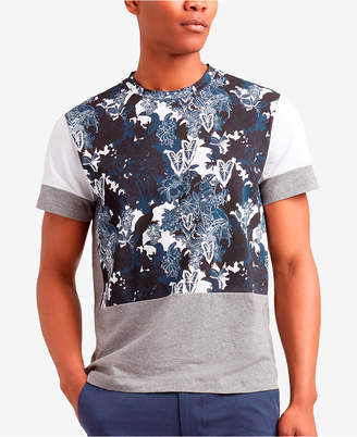 Kenneth Cole New York Men's Colorblocked Printed T-Shirt