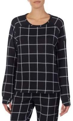 Kensie Long-Sleeve Pajama Top