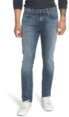 Fidelity Jimmy Slim Straight Leg Jeans (Cathedral)