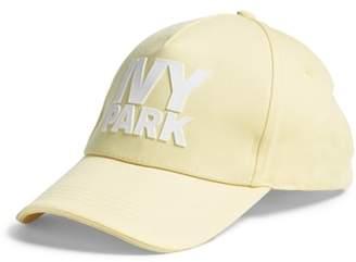 Ivy Park R) Silicone Logo Baseball Cap