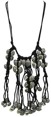 One Kings Lane Vintage Festoon Necklace with Conch Shell Beads