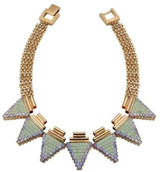Mawi London Deco Triangle Necklace