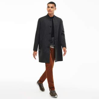 Lacoste Unisex LIVE Oversized Wool Broadcloth Coat