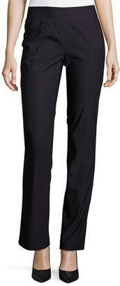 NIC+ZOE Wonderstretch Straight-Leg Pants $128 thestylecure.com