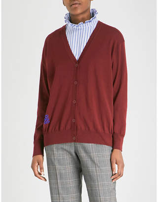 Sandro Fine-knit wool cardigan