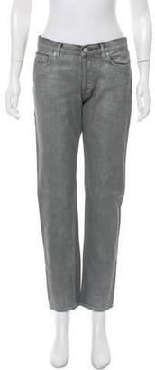 Golden Goose Glitter Straight-Leg Jeans w/ Tags