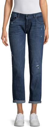 DL1961 Women's Riley Cotton Boyfriend Jeans