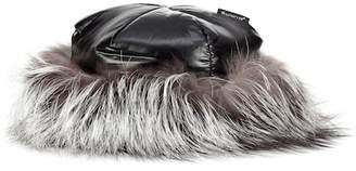 Moncler Fur-trimmed hat