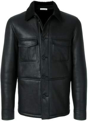 Tomas Maier nappa shearling field jacket