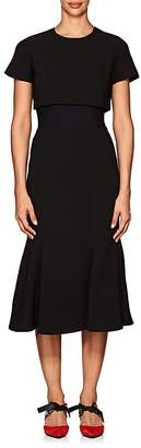 Proenza Schouler Women's Stretch-Cady Layered Dress