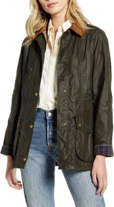 Barbour Beadnell Lightweight Waxed Cotton Jacket