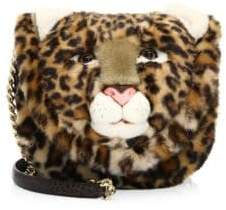 Dolce & Gabbana Leopard-Print Crossbody Bag