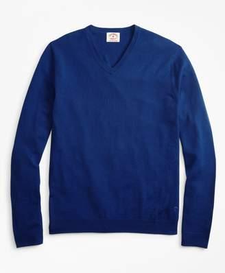 Brooks Brothers (ブルックス ブラザーズ) - Red Fleece GF ウォッシャブルメリノウール Vネックセーター