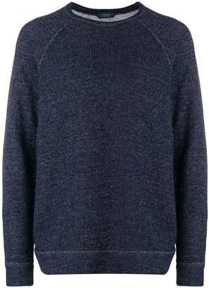 Zanone crew neck sweatshirt