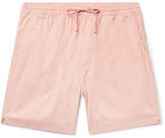 Onia Aiden Slim-Fit Cotton-Twill Drawstring Chino Shorts