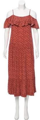Rebecca Minkoff Printed Maxi Dress