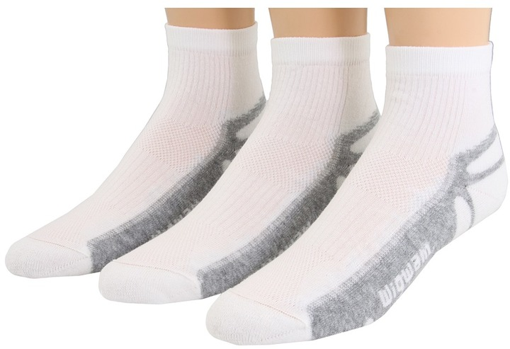Wigwam - IronMan Thunder Pro Quarter 3-Pair Pack Quarter Length Socks Shoes