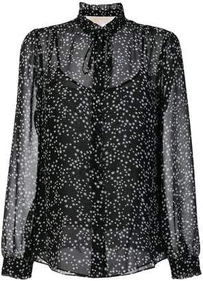 MICHAEL Michael Kors star print blouse