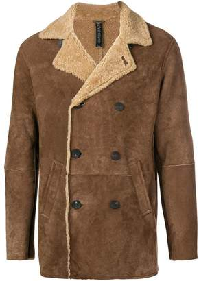 Giorgio Brato classic double-breasted coat