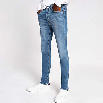 River Island Levi's light blue 519 extreme skinny jeans