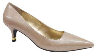 J. Renee Braely Leather Stiletto Pump - Wide Width Available