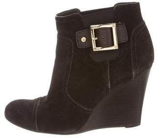 Tory Burch Wedge Ankle Boots